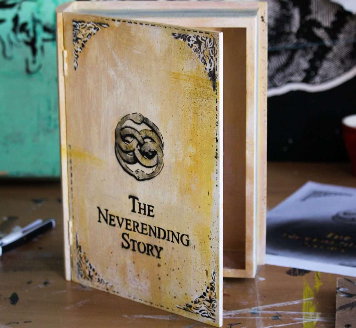 the never ending story painted book 1 2