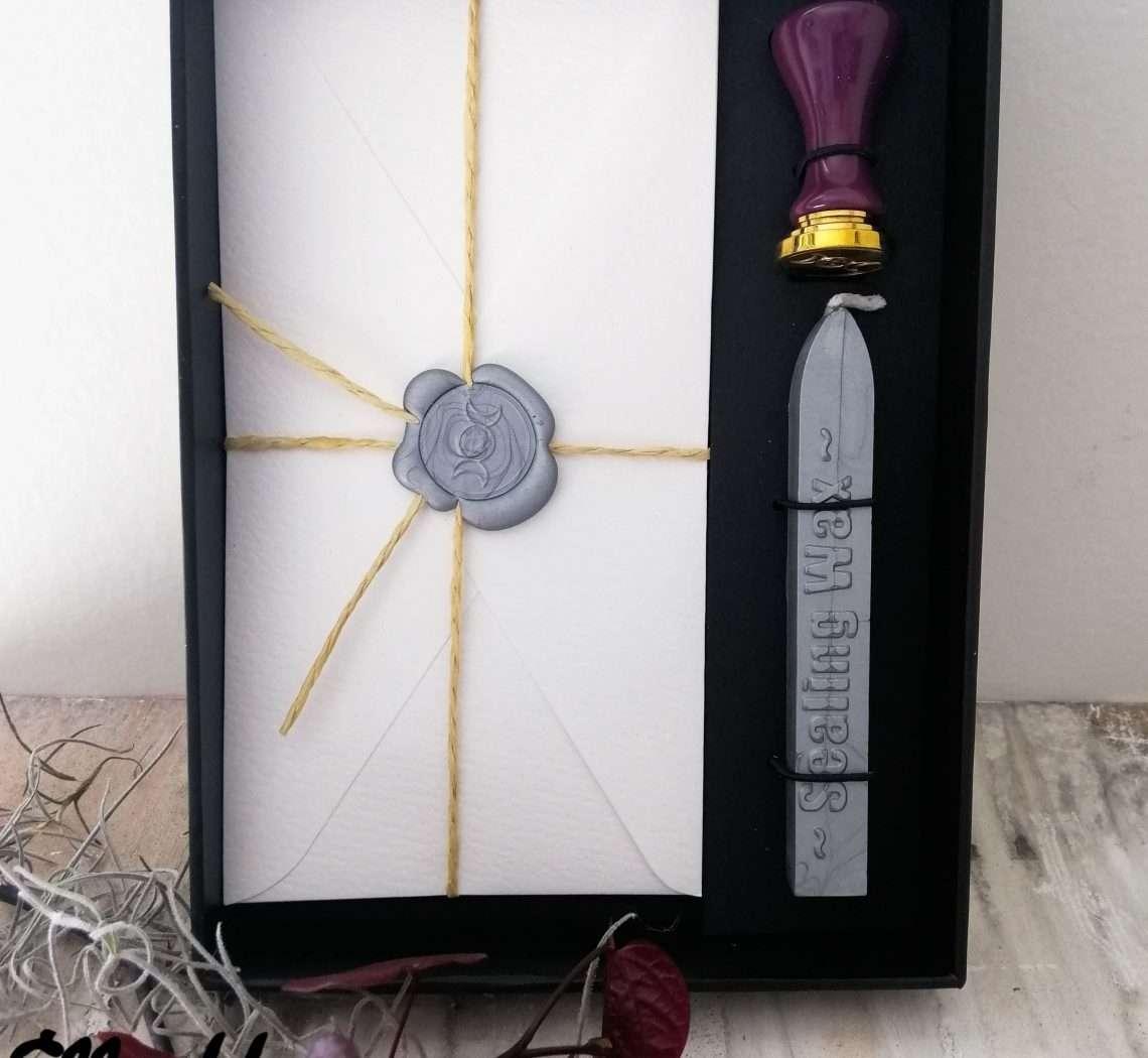 Triple Goddess Stationary Set Wax Seal